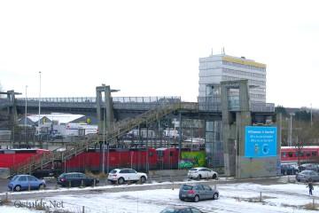 Fußgängerbrücke - 6543