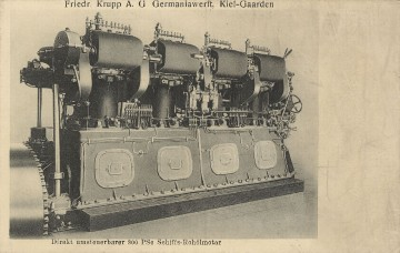 Krupp-Germaniawerft - Motor
