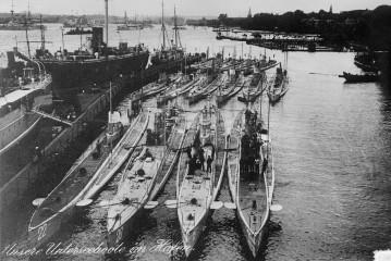 U-Boote 1914
