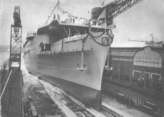 Graf Zeppelin - 8.12.1938