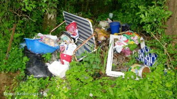 Kleingarten-Müll - 9701