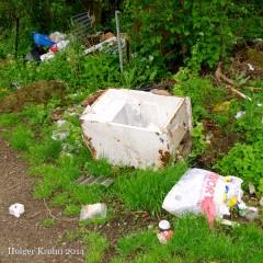 Kleingarten-Müll - 9704
